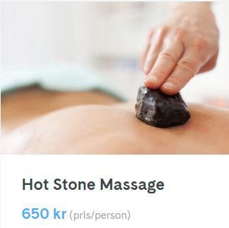 hot stone massage uppsala